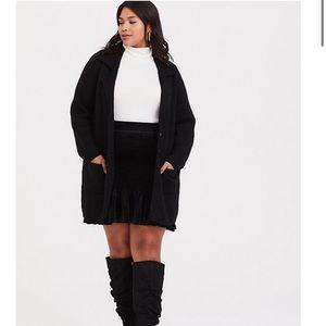 Torrid Smocked Ruffle mini skirt